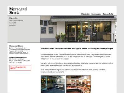 Metzgerei Steck Tübingen-Unterjesingen