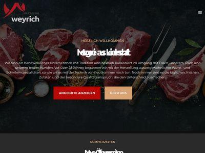 Metzgerei Willi Weyrich