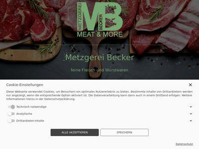 Metzgerei Becker GbR