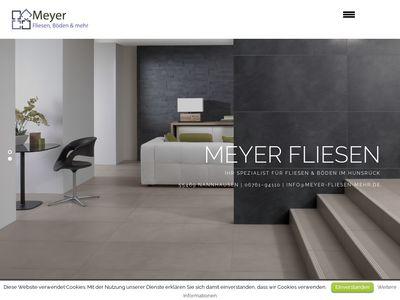 Meyer Fliesen, Böden & mehr