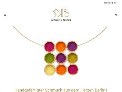 Michaela Binder - Galerie für Schmuck