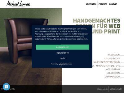 Michael Lamas Web- und Grafikdesign