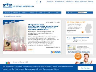 Deutscher Mieterbund EDV-Service GmbH