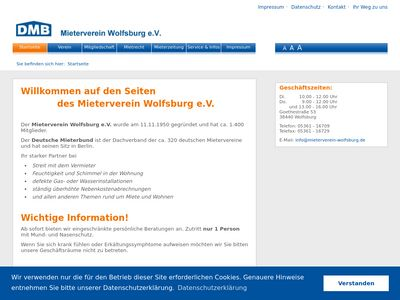 Mieterverein Wolfsburg und Umgebung
