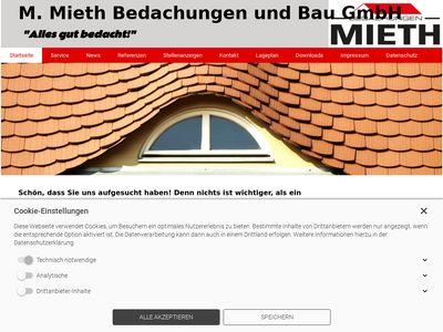 M. Mieth Bedachungen und Bau GmbH