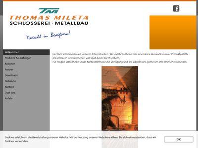 Mileta Metallbau