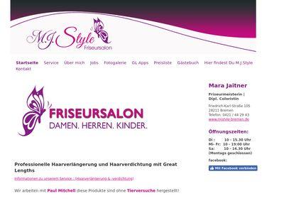 M.J. Style - Friseursalon