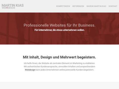 MARTIN KIAS Webdesign
