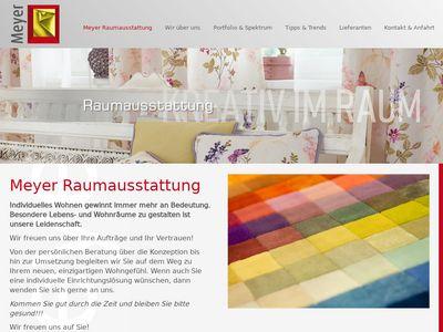 Meyer Raumausstattung - Kreativ im Raum