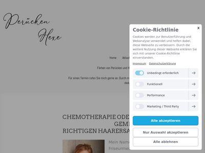 Mobile Perücken Anna Schlicht