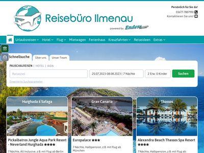 Reisebüro Mobile Reisewelt Ilmenau