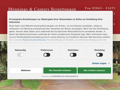 Mönnings-Caspers Bestattungen