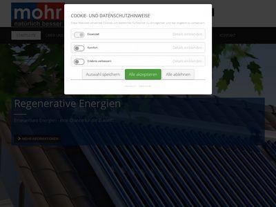 MOHR GmbH Sanitär - Heizung