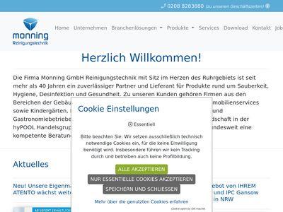 Monning GmbH Reinigungstechnik