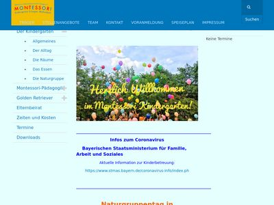 Integrativer Montessori Kindergarten Eidechsen