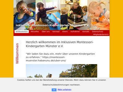 Integrativer Montessori-Kindergarten