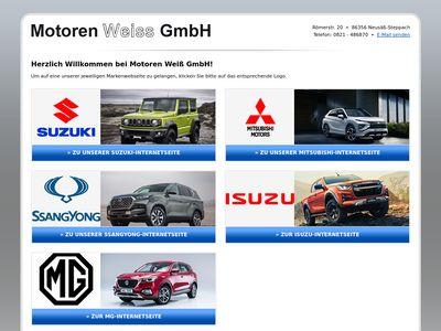 Motoren Weiss.Suzuki.Mitsub