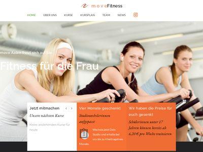 Move Fitness für die Frau