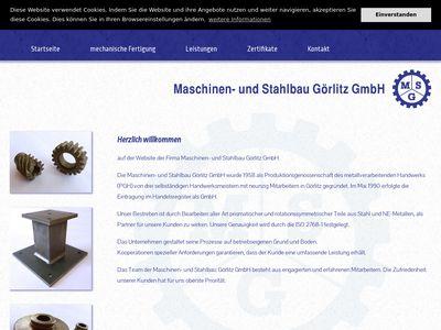 Maschinen- und Stahlbau Görlitz GmbH
