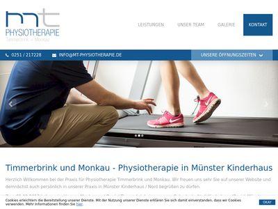 MT-Physiotherapie, Timmerbrink und Monkau