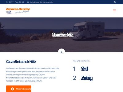 Caravan-Service an der Müritz