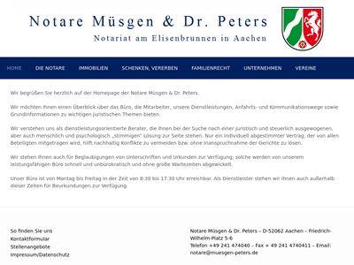 Müsgen & Dr. Peters Notare