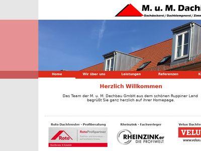 M. u. M. Dachbau GmbH