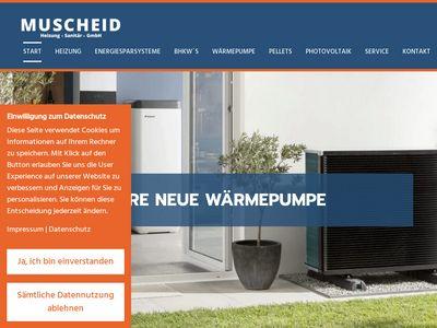 Muscheid-Heizung-Sanitär- GmbH