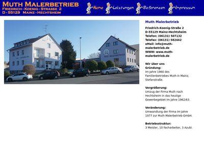 Muth Herbert Maler- und Lackierermeister