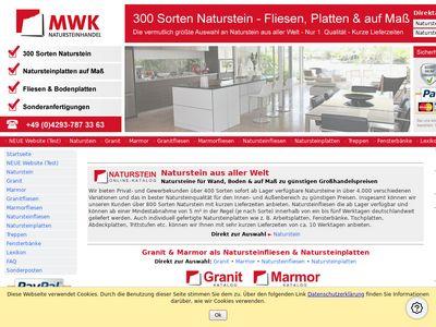 MWK Natursteinfliesen