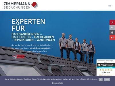 Zimmermann Bedachungen GmbH
