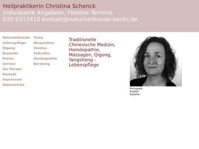 Praxis für Naturheilkunde Christina Schenck
