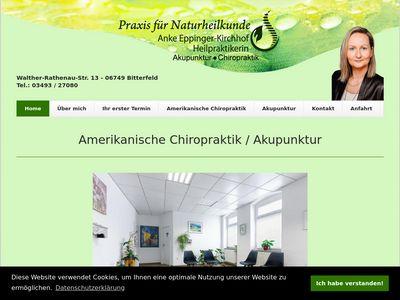 Eppinger-Kirchhof Anke Heilpraktikerin