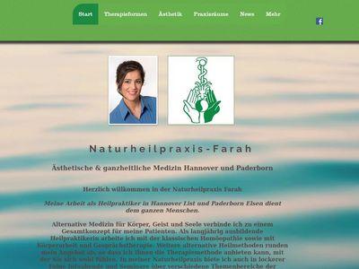 Heilpraktiker Farah in Hannover und Paderborn