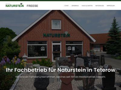 Naturstein Freese - Steinmetzmeisterbetrieb