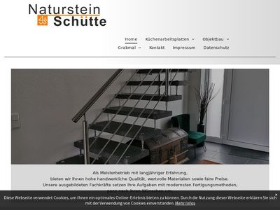 Naturstein Schütte
