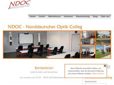 NDOC - Norddeutsches Optik Colleg