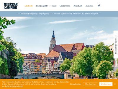 Neckarcamping Tubingen