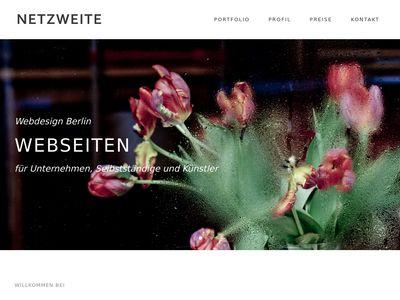 Netzweite Webdesign