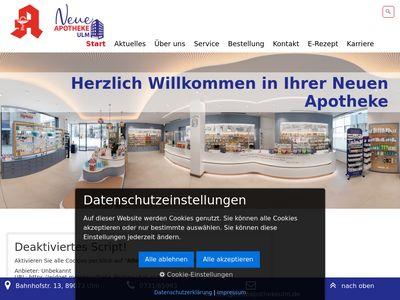 Neue Apotheke Ulm