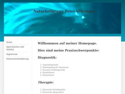 Naturheilpraxis Peter Vöhringer