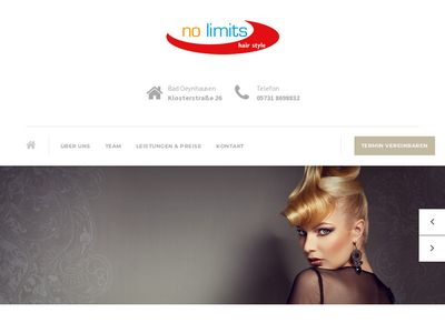 Luisa Vogel no limits hair style