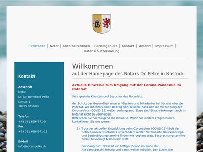 Pelke Bernhard Dr. Notar
