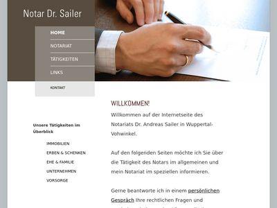 Dr. Andreas Sailer Notar