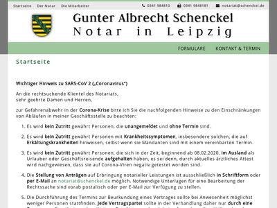 Schenckel Gunter A. Notar