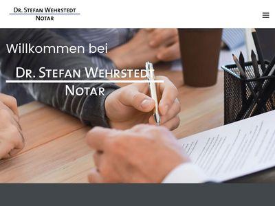 Dr. Stefan Wehrstedt Notar