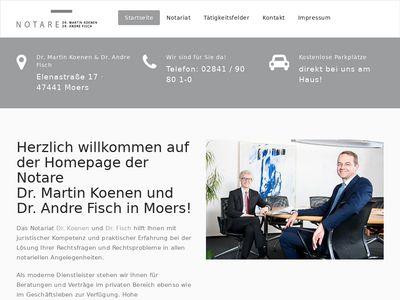 Dr. Martin Koenen und Dr. Andre Fisch