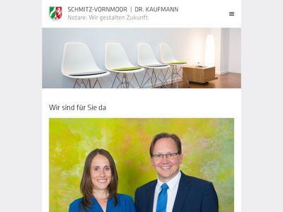 Notare Schmitz-Vornmoor / Dr. Kaufmann