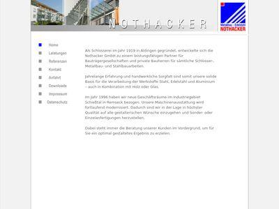 Nothacker GmbH Metallbau - Edelstahl