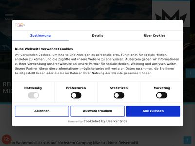 Notin Wohnmobile - Reisemobile der Spitzenklasse